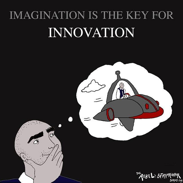 Imagination is the key