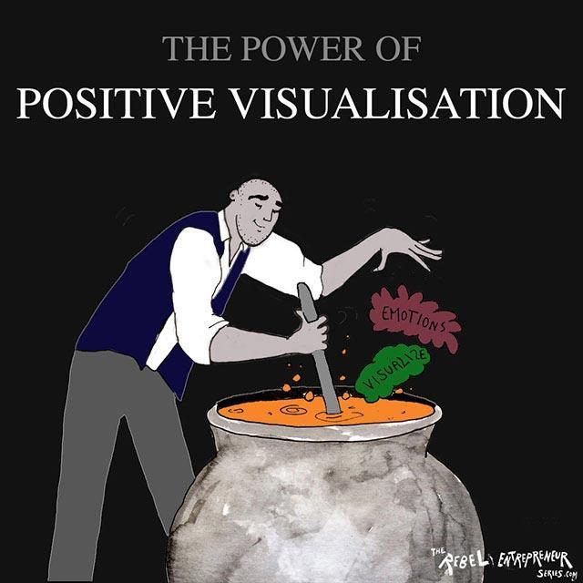 Positive visualisation